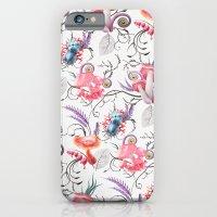 iPhone & iPod Case featuring Mushroom pattern by Sasha Vinogradova
