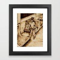Sisterly Love Framed Art Print