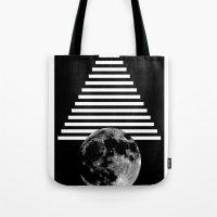 moon walk Tote Bag
