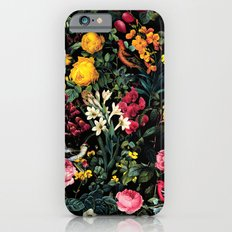 Floral And Birds Pattern iPhone 6 Slim Case