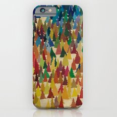 Colorful Conifers iPhone 6 Slim Case