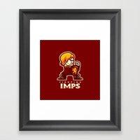 Fightin' Imps Framed Art Print