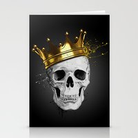 Royal Skull Stationery Cards