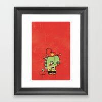 Happy Chinese New Year T… Framed Art Print