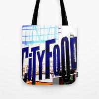 City Food Tote Bag