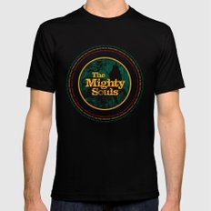 The Mighty Souls: Reggae Legends Black Mens Fitted Tee SMALL