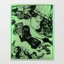 centipede print (1 of 2) Canvas Print