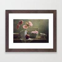 In The Spring Mood Framed Art Print