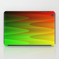 Colorful Waves iPad Case