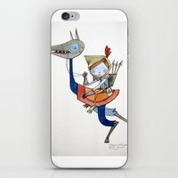 sleepwalker iPhone & iPod Skin