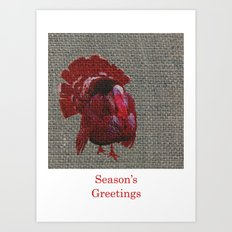 Season's Greetings 02 Art Print