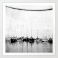 · Go Sailing -Analogica… Art Print
