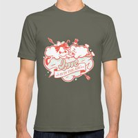 Love Is In The Air Mens Fitted Tee Lieutenant SMALL