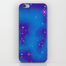 Indigo Nebula (8bit) iPhone & iPod Skin