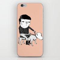 Jack the Dog Rider iPhone & iPod Skin