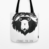 Lyonnel the Lion Tote Bag