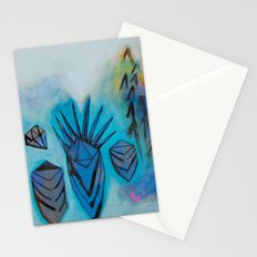 Eternal Calm - Caves and Crystals Stationery Cards
