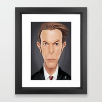 Celebrity Sunday - David… Framed Art Print