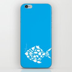Fish are friends..... iPhone & iPod Skin
