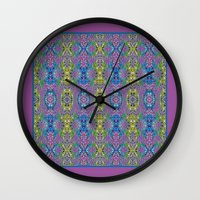 Peaceful Garden Wall Clock