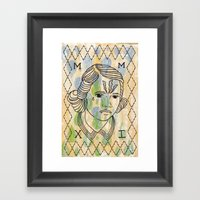 Gret Framed Art Print