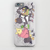 iPhone & iPod Case featuring Meowy Wowy by tenso GRAPHICS