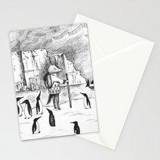 Antarctic explorer Stationery Cards