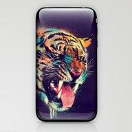 FEROCIOUS TIGER iPhone & iPod Skin