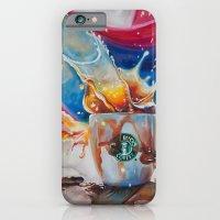 iPhone & iPod Case featuring Coffee Splash! by Yulia Katkova