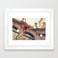 Llums de la Virreina Framed Art Print
