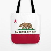 California Republic Stat… Tote Bag