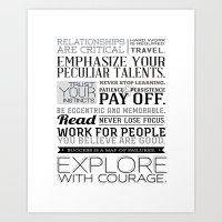 Designer Wisdom Art Print