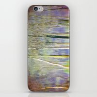 Abstract Birches Reflect… iPhone & iPod Skin