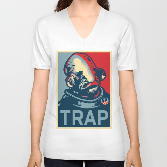 TRAP V-neck T-shirt
