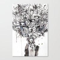 Woke Up Canvas Print