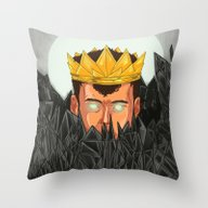 The King Is Under Contro… Throw Pillow
