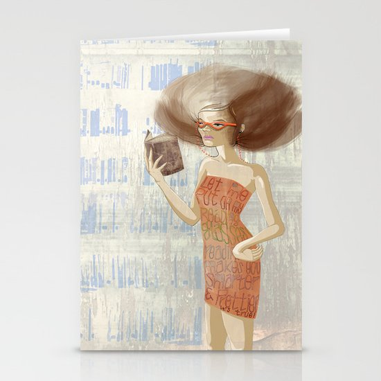 Librarian Stationery Card