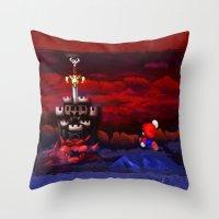 Super Mario RPG Throw Pillow