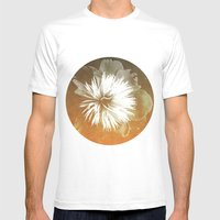 peony III Mens Fitted Tee White SMALL