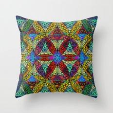 The Flower Of Life (Sacr… Throw Pillow