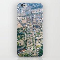 Aerial City Landscape iPhone & iPod Skin
