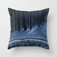 And Now My Watch Begins – Game Of Thrones Fan Art Throw Pillow