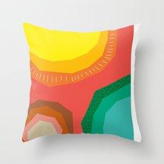 Polka Dots and Moonbeams Throw Pillow