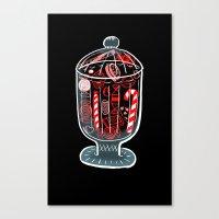 Holiday Candy Jar Canvas Print