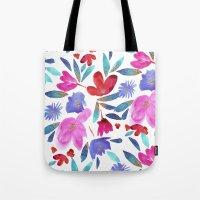 LeiLani Flower Tote Bag