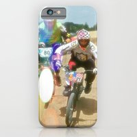 iPhone & iPod Case featuring s&m bikes racer by MikeyNiverson