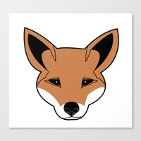 Fox the Fox Canvas Print