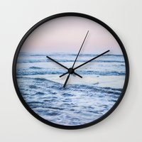 Pacific Ocean Waves Wall Clock