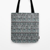 Cheong Fatt Tze Mansion Pattern (Penang) Tote Bag
