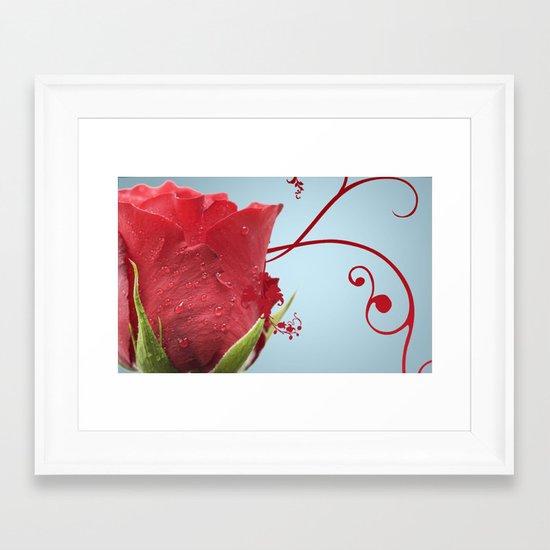 Rose, Reinvented Framed Art Print